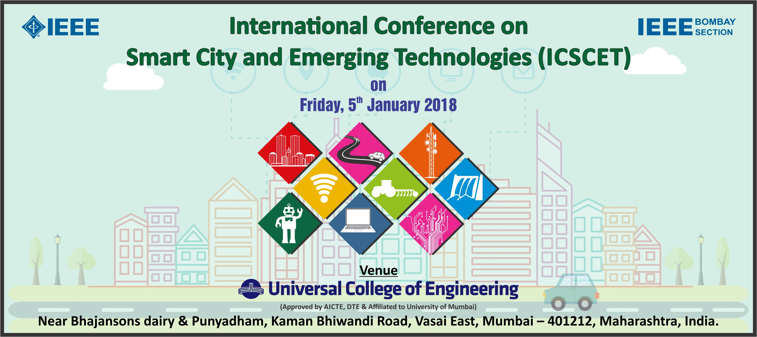 IEEE conference in Mumbai, India